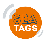 Sea-Tags Sticky Logo