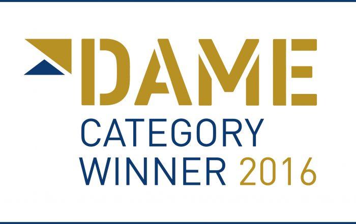 Category winner du DAME Award